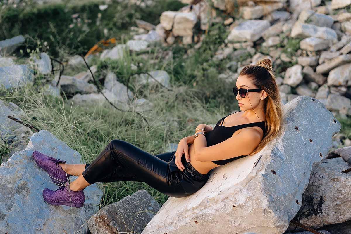 Ana Prodanovich wearing Nike Innevas.