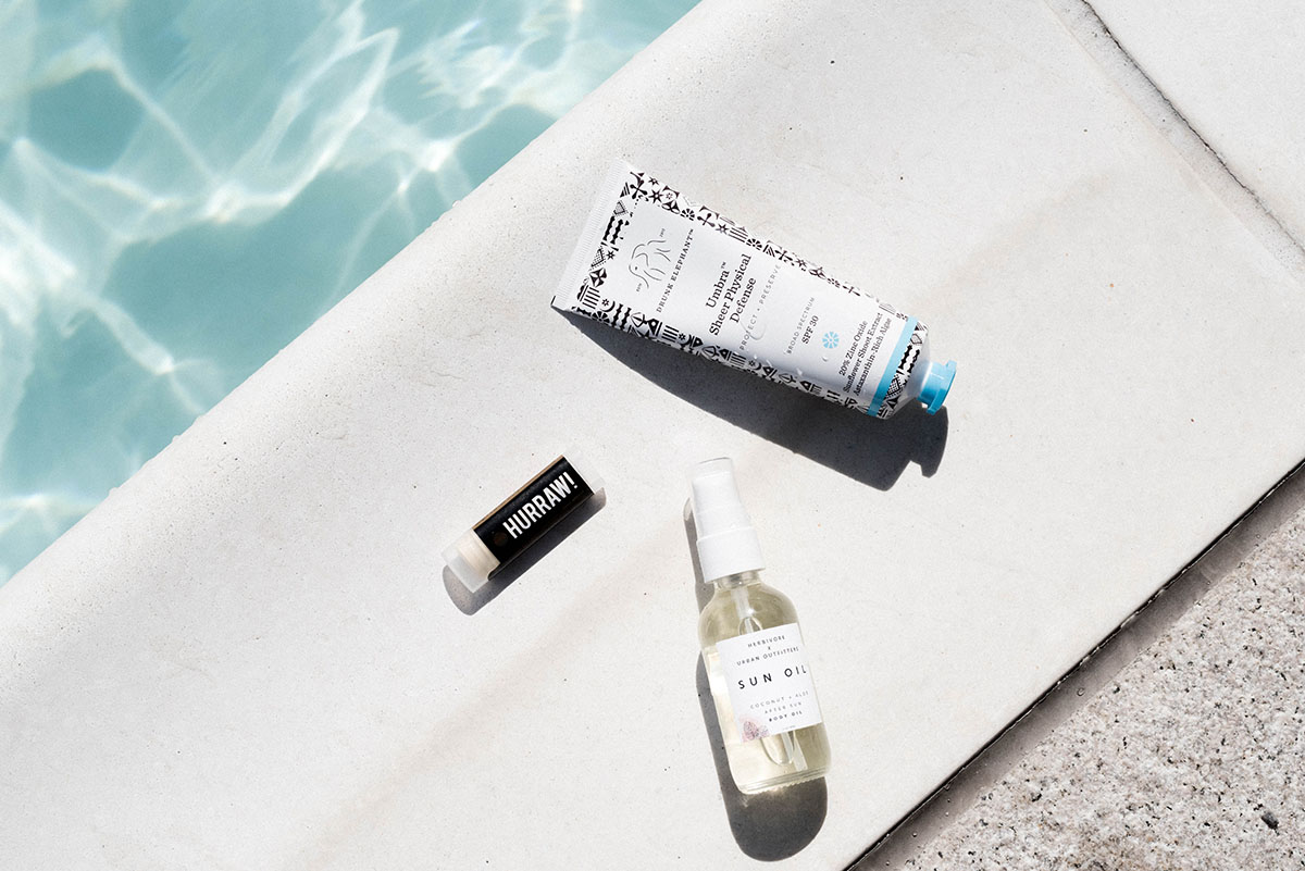 The Care Label's guide to a non-toxic sun care routine.