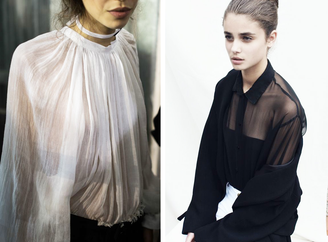 Ana Prodanovich coveting sheer blouses.
